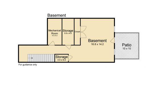 Serrano Basement IMOTO floorplan 582017